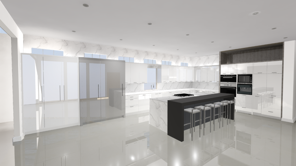 Modern Kitchen-N.Dallas Rendering